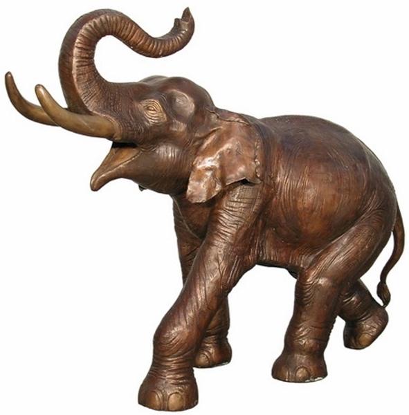 Bronze Elephant Statue - AF 74235