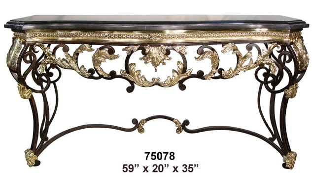 Bronze Console Table - AF 75078