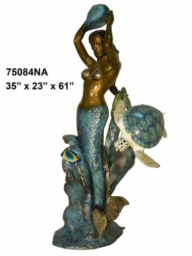Bronze Mermaid Fountains - AF 75084NA