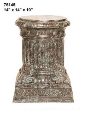 Bronze Column Pedestal - AF 76145