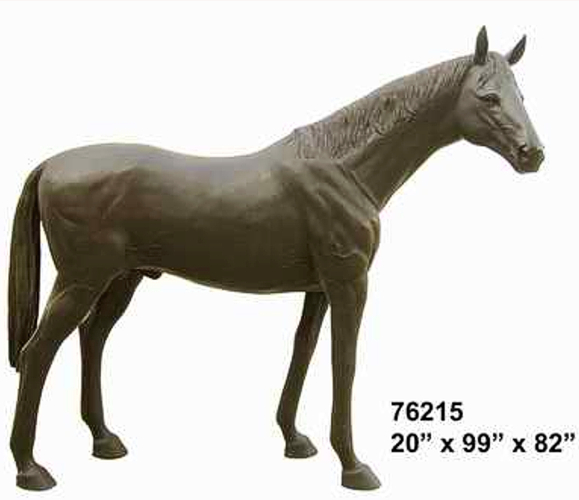 Bronze Horse Statue - AF 76215