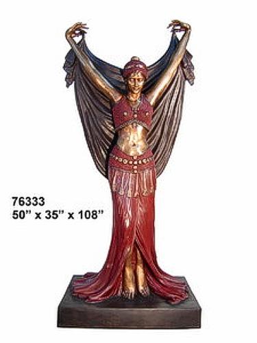 Bronze Gypsy Statue - AF 76333
