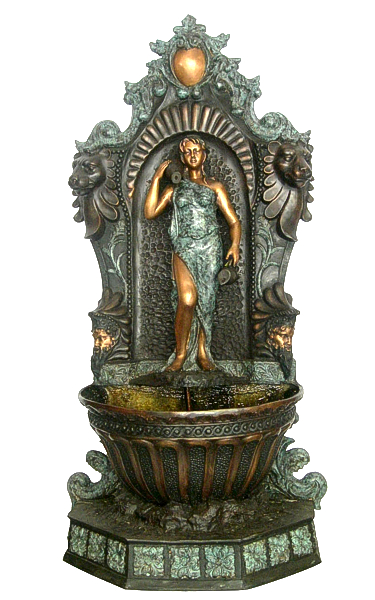Bronze Wall Fountain - AF 76408