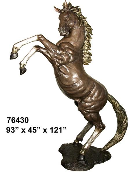 Bronze Stallions School Mascot - AF 76430-Mascot