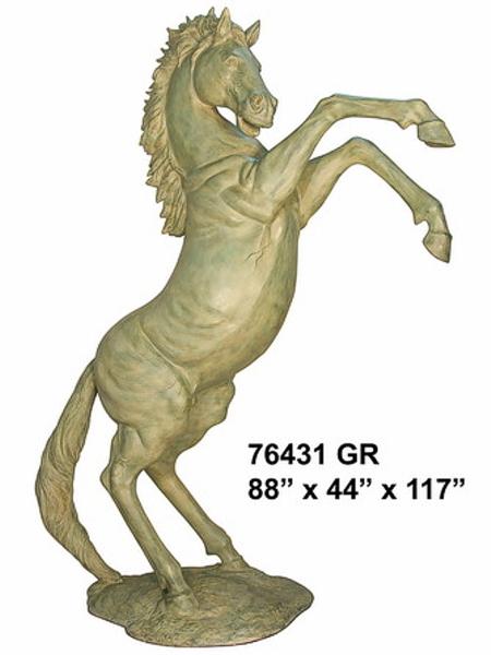 Bronze Horse Statues - AF 76430GR