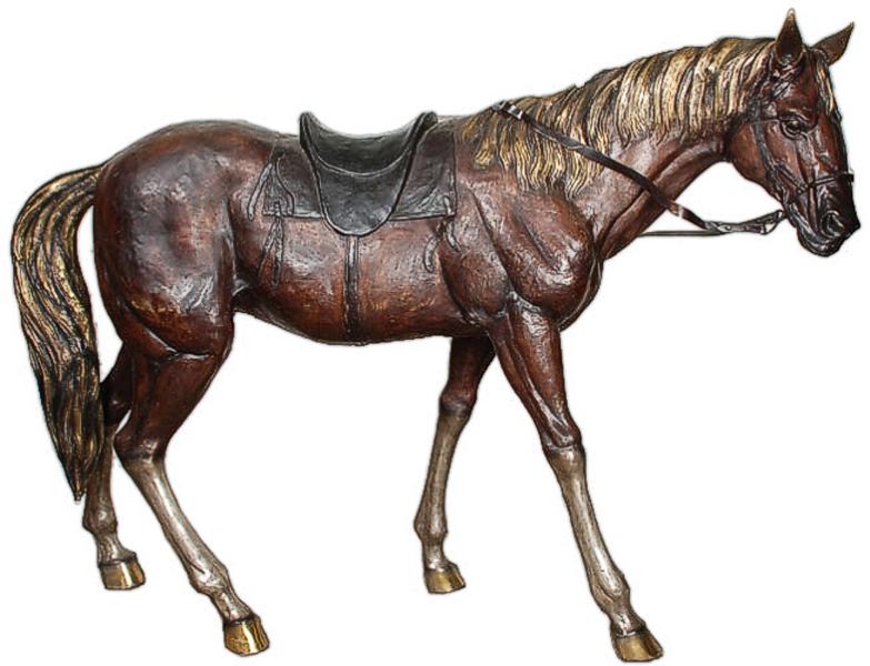Bronze Horse Statues - AF 76432