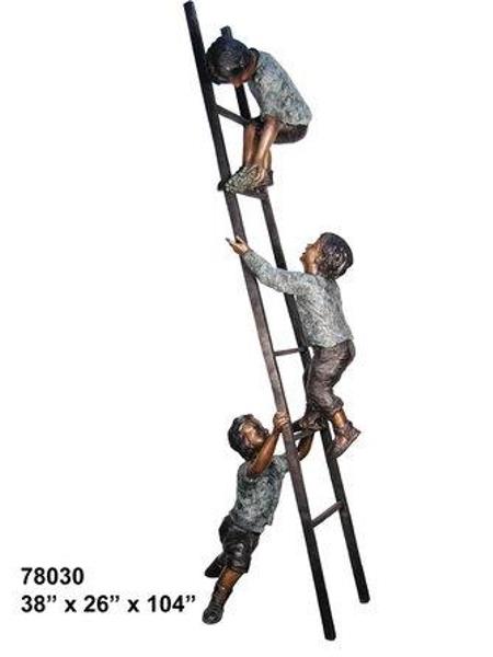 Bronze Children Statues - AF 78030