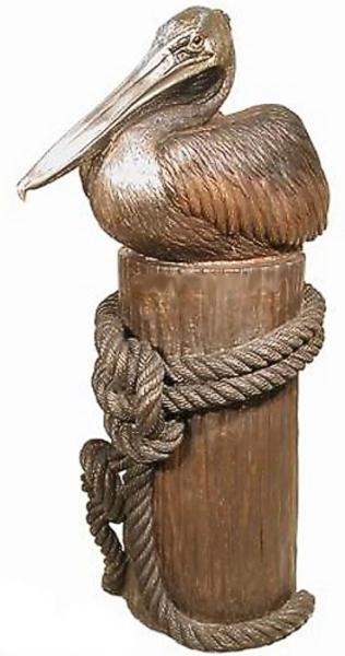 Bronze Pelican Statues - AF 81025