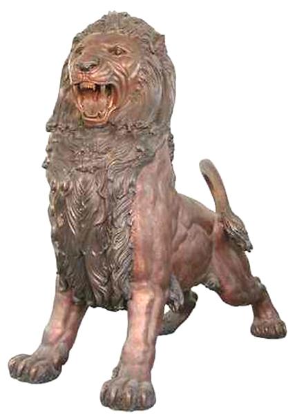 Bronze Lion Statues - AF 81030