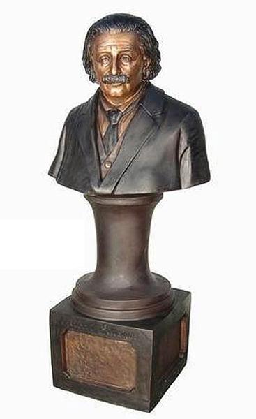 Bronze Albert Einstein Statue - AF 81072