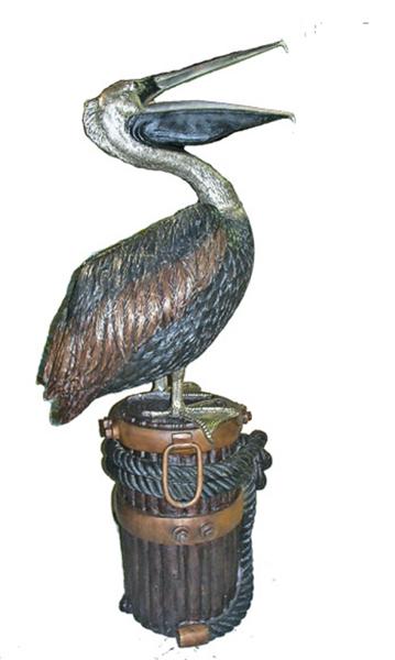 Bronze Pelican Statues - AF 81085