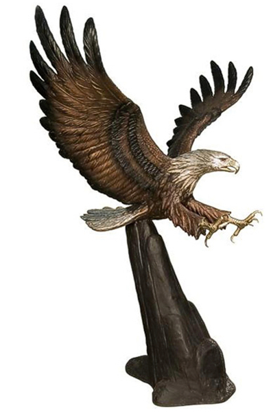 Bronze Eagle Statues | Bird of Prey - AF 81142