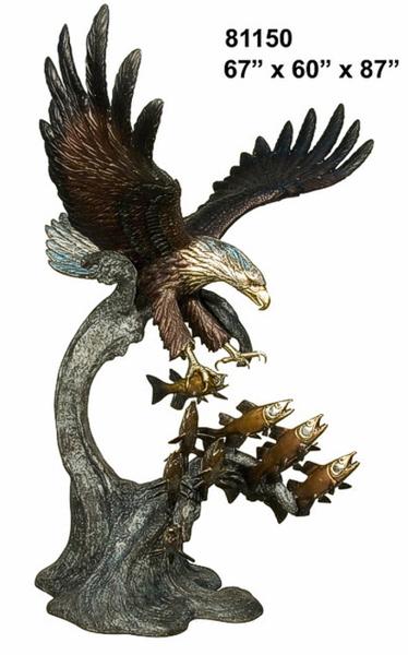 Bronze Eagle Statues | Bird of Prey - AF 81150