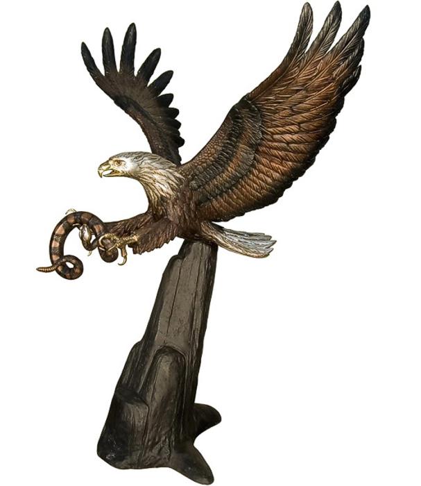 Bronze Eagle Statues | Bird of Prey - AF 81153