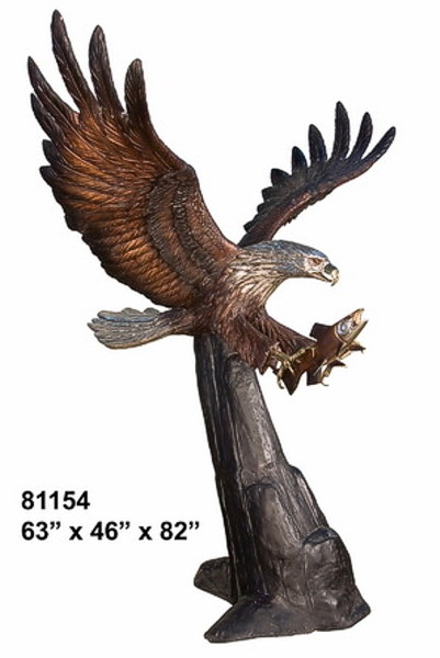 Bronze Eagle Statues | Bird of Prey - AF 81154