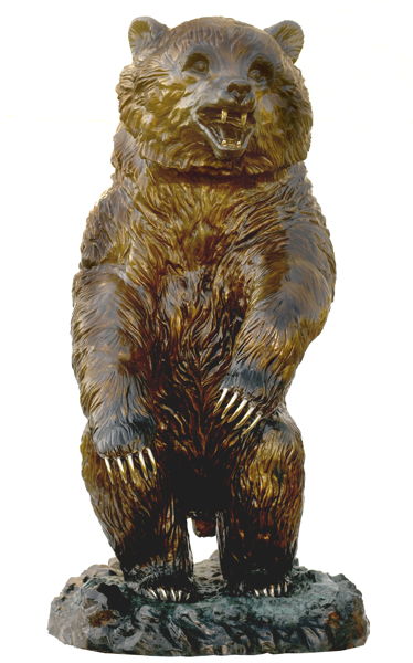 Bronze Bear Statues - ASB 817