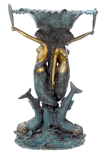 Bronze Mermaid Statue - ASB 830