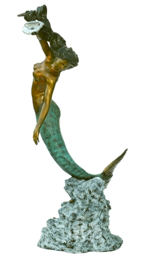 Bronze Mermaid Statue - ASB 831