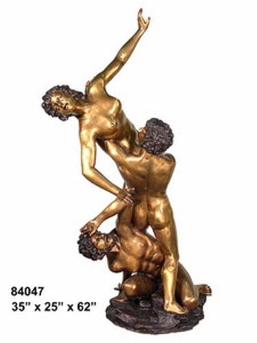 Bronze Mermaid Statue - AF 84047