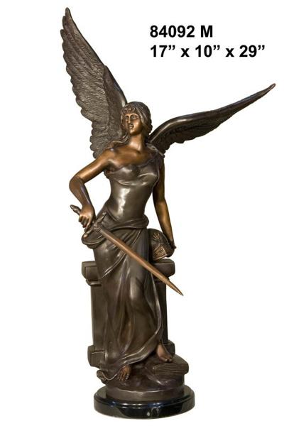 Bronze Angel Statue - AF 84092M