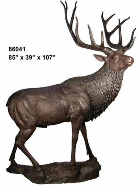 Bronze Deer Buck Statues - AF 86041