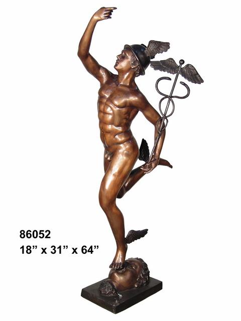 Bronze Mercury Statues - AF 86052