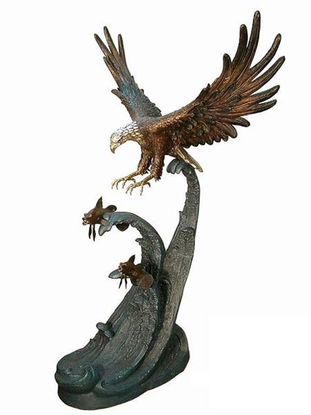 Bronze Eagle Statues | Bird of Prey - AF 87098
