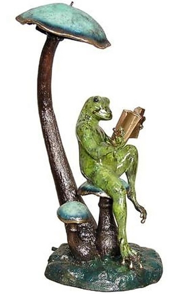Bronze Frog Fountain/Statue - AF 87104NA-NP
