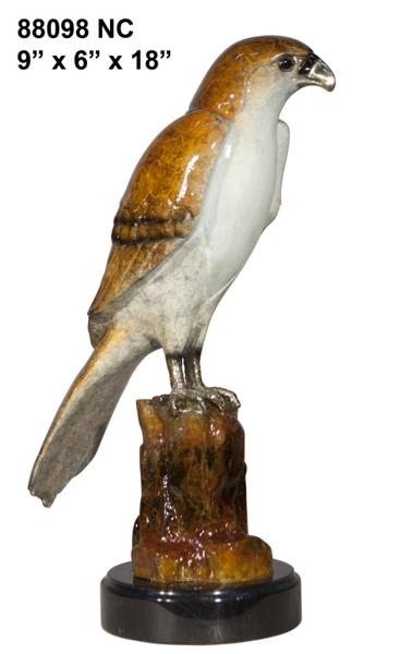 Bronze Falcon Statue - AF 88098 NA