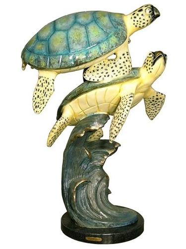 Bronze Turtles Statues - AF 94001NA