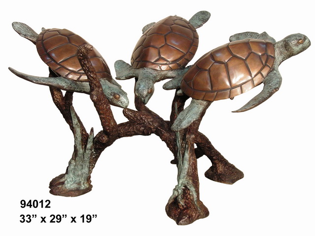 Bronze Turtle Table - AF 94012