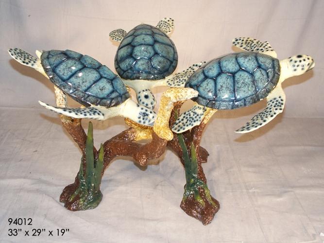 Bronze Turtle Table Base - AF 94012MET