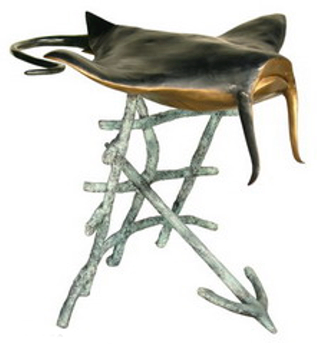 Bronze Stingray Dining Table Base - AF 94056