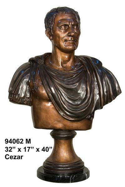 Bronze Caesar Bust - AF 94062