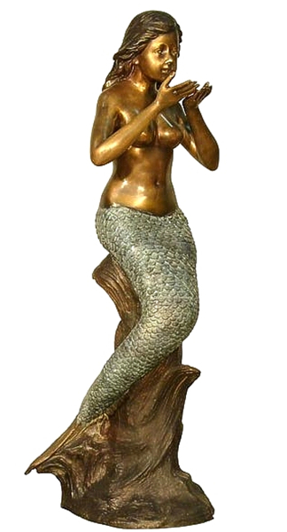 Bronze Mermaid Fountains | Bronze Mermaid Statues - AF 94064