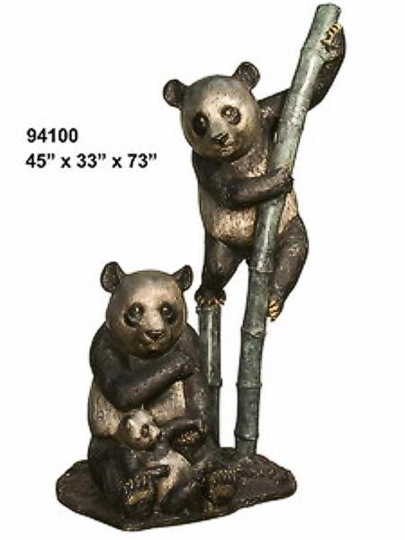 Bronze Bear Statues - AF 94100