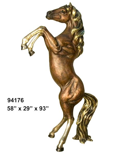 Bronze Horse Statues - AF 94176