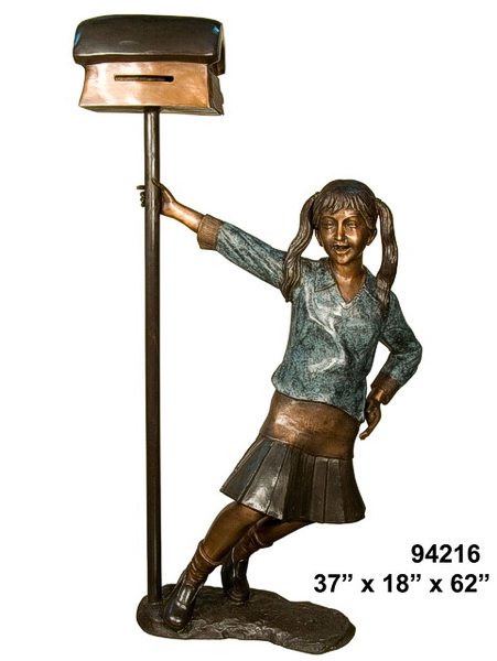 Bronze Children's Themed Mailbox - AF 94216