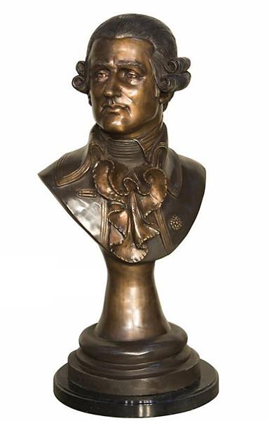 Mozart Bronze Bust - AF 94274MTT