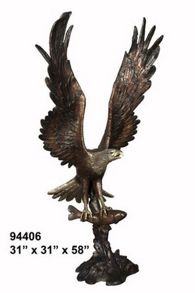 Bronze Eagle Statues | Bird of Prey - AF 94406