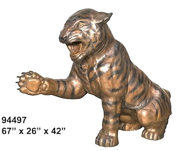 Bronze Tiger School Mascot - AF 94497-Mascot