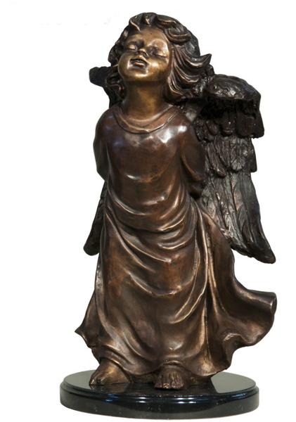 Bronze Angel Statue - AF 94510M