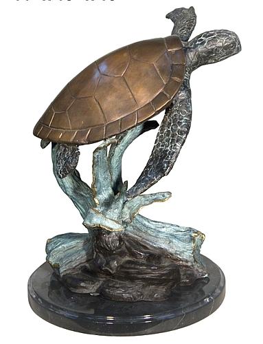 Bronze Turtle Statue - AF 97076M