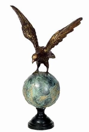 Bronze Eagle Statues | Bird of Prey - DD A-106