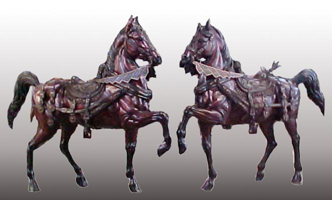 Bronze Horse Statues - PA 1073A