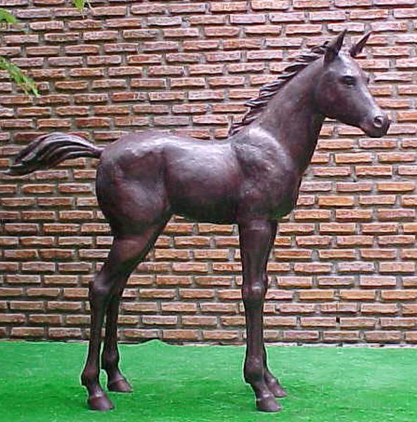 Bronze Horse Statues - PA A-1081
