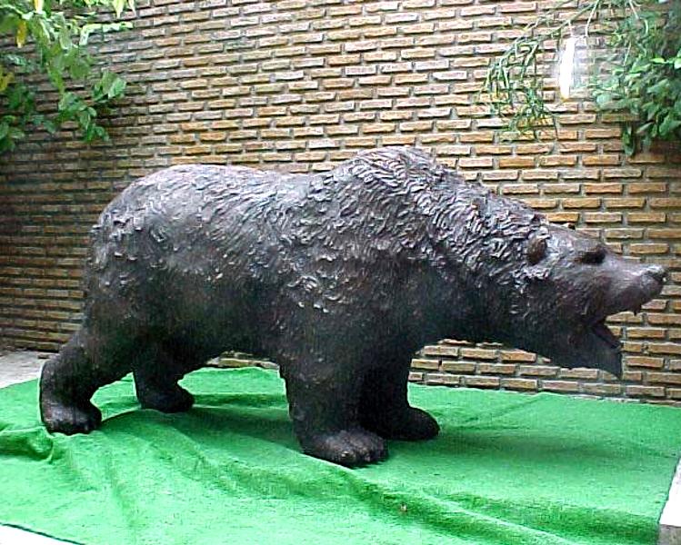 Bronze Bear Statues - PA A-1103