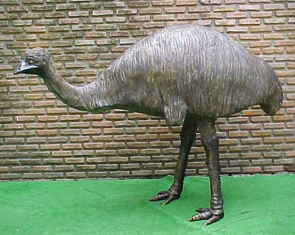 Bronze Emu Statue - PA A-1166