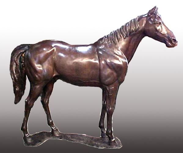 Bronze Horse Statues - PA A-1181