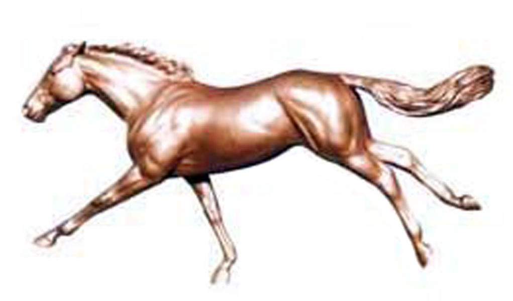 Bronze Life-Size Horse Statues - PA A-1189